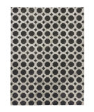 Exquisite Rugs Berlin Hand Stitched 3798 Charcoal - Ivory Area Rug