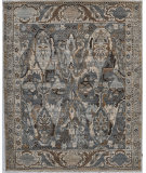 Exquisite Rugs Jurassic Hand Knotted 3799 Gray - Beige Area Rug