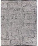 Exquisite Rugs Aldridge Hand Knotted 3807 Ivory - Gray Area Rug