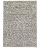 Exquisite Rugs Aldridge Hand Knotted 3808 Ivory - Gray Area Rug