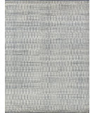 Exquisite Rugs Merced Hand Knotted 3809 Gray - Ivory Area Rug