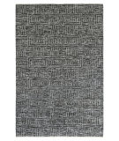 Exquisite Rugs Aldridge Hand Knotted 3810 Charcoal - Ivory Area Rug