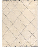 Exquisite Rugs Moroccan Hand Woven 3854 Ivory - Gray Area Rug