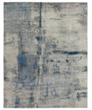 Exquisite Rugs Reflections Hand Woven 3915 Ivory - Gray Area Rug