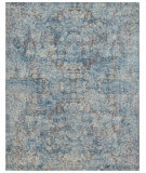 Exquisite Rugs Cassina Hand Woven 3934 Blue - Ivory - Multi Area Rug