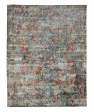 Exquisite Rugs Antolini Hand Woven 3942 Gray - Multi Area Rug