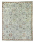 Exquisite Rugs Faris Hand Knotted 3984 Gray - Multi Area Rug
