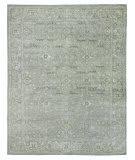 Exquisite Rugs Faris Hand Knotted 3987 Gray - Multi Area Rug