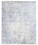 Exquisite Rugs Octavio Hand Woven 4028 Silver - Blue Area Rug