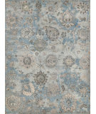 Exquisite Rugs Sussex Hand Knotted 4033 Ivory - Light Blue - Multi Area Rug