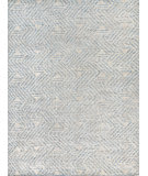 Exquisite Rugs Easton Hand Knotted 4038 Blue - Ivory - Silver Area Rug