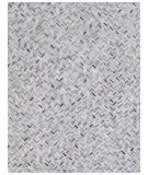 Exquisite Rugs Natural Hair On Hide 4056 Silver Area Rug