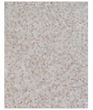 Exquisite Rugs Natural Hair On Hide 4060 Light Beige Area Rug