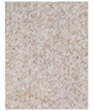 Exquisite Rugs Natural Hair On Hide 4064 Light Beige Area Rug