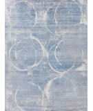 Exquisite Rugs Amber Hand Knotted 4225 Blue - Grey - Multi Area Rug