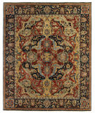Exquisite Rugs Serapi Hand Knotted 5024 Red - Blue Area Rug
