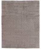 Exquisite Rugs Moreno Hand Knotted 5048 Light Silver Area Rug