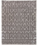 Exquisite Rugs Moreno Hand Knotted 5057 Light Silver Area Rug