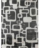 Exquisite Rugs Koda Hand Woven 5180 Gray - Black Area Rug