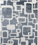 Exquisite Rugs Koda Hand Woven 5181 Denim - Ivory Area Rug