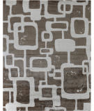 Exquisite Rugs Koda Hand Woven 5183 Brown - Ivory Area Rug