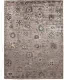Exquisite Rugs Museum Hand Knotted 5198 Silver - Brown Area Rug