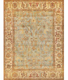 Exquisite Rugs Serapi Hand Knotted 7044 Light Blue - Ivory Area Rug