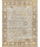 Exquisite Rugs Oushak Hand Knotted 8001 Brown - Gray Area Rug