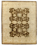 Exquisite Rugs Oushak Hand Knotted 8004 Ivory - Beige Area Rug