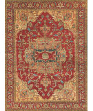 Exquisite Rugs Serapi Hand Knotted 8144 Red Area Rug