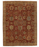Exquisite Rugs Serapi Hand Knotted 8340 Red - Ivory Area Rug