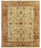 Exquisite Rugs Serapi Hand Knotted 9160 Ivory - Red Area Rug