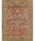 Exquisite Rugs Serapi Hand Knotted 9204 Rust - Gold Area Rug