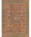 Exquisite Rugs Mamluk Hand Knotted 9205 Rust - Green Area Rug