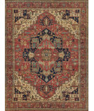 Exquisite Rugs Fine Serapi Hand Knotted 9206 Red Area Rug