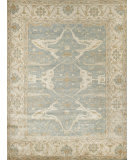 Exquisite Rugs Oushak Hand Knotted 9214 Blue - Ivory Area Rug