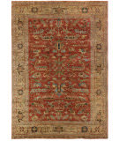 Exquisite Rugs Serapi Hand Knotted 9225 Rust - Gold Area Rug