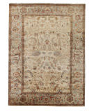 Exquisite Rugs Serapi Hand Knotted 9391 Ivory - Light Blue Area Rug