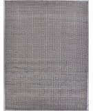 Exquisite Rugs Greco Hand Knotted 9419 Silver Area Rug