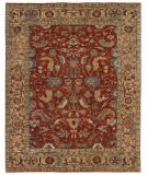 Exquisite Rugs Serapi Hand Knotted 9745 Red - Gold Area Rug