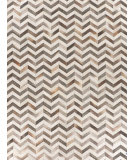 Exquisite Rugs Natural Hair on Hide 9762 White - Gray Area Rug
