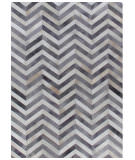 Exquisite Rugs Natural Hair on Hide 9772 White - Light Gray Area Rug