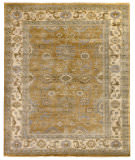 Exquisite Rugs Oushak Hand Knotted 9782 Yellow - Ivory Area Rug