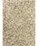 Exquisite Rugs Natural Hair on Hide 9817 Silver - Multi Area Rug