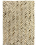 Exquisite Rugs Natural Hair on Hide 9904 Ivory - Brown Area Rug