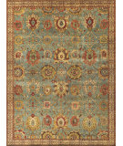 Exquisite Rugs Serapi Hand Knotted 9973 Light Blue - Ivory Area Rug
