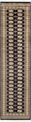 Famous Maker Bokara 36152 Black Area Rug