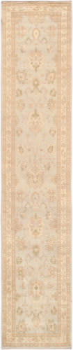 Famous Maker Oushak 40164 Light Blue - Ivory Area Rug