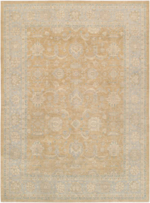 Famous Maker Ferehan 43958 Light Gold - Light Blue Area Rug
