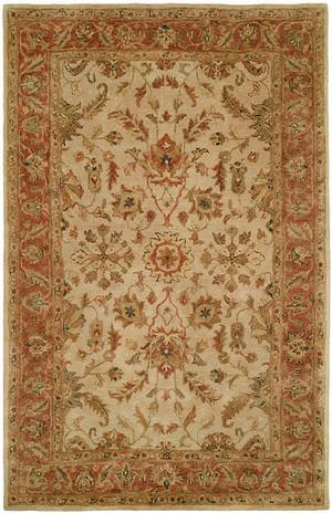 Kalaty Empire EM-282 Ivory-Rust Area Rug